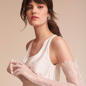 Adalia Lace Gloves, Bhldn
