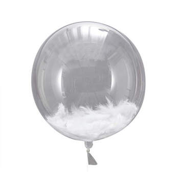 Globo Con Plumas 3 Unidades- Compra en The Wedding Shop