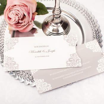 Hochzeitseinladung Meredith und Joseph