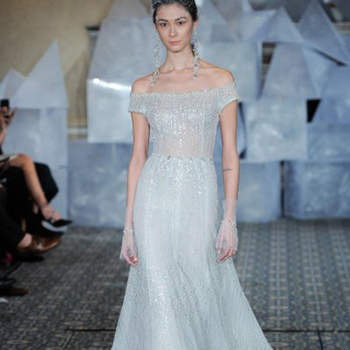 Mira Zwillinger. Credits: New York Bridal Week