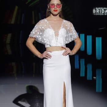 Photo : Marylise by Rembo Styling, Barcelona Bridal Fashion Week