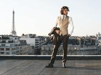 Les costumes de marié à Paris