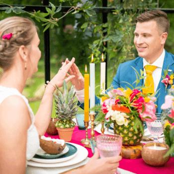 otanic styled wedding shoot: voel de tropical vibes!   Foto: Just Weddings.nl – Justa van Heertum