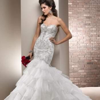 Toda noiva tem a difícil missão de encontrar o vestido de noiva perfeito. E são muitos os estilos hoje em dia! Se você gosta dos modelos sereia, irá se encantar com estes de Maggie Sottero!
