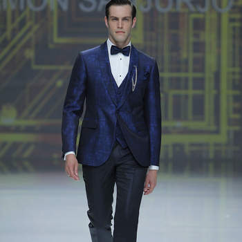 Ramón Sanjurjo. Credits: Barcelona Bridal Fashion Week