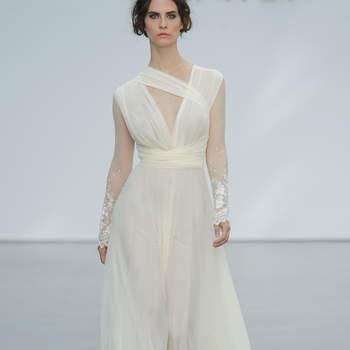 Vestidos de novia corte imperio. ¡Logra una máxima elegancia!