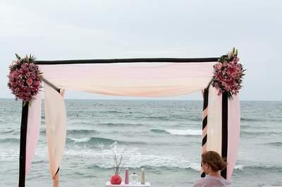 Unvergessliche Trauung: die schönsten Altar-Dekorationen für Ihre Hochzeit