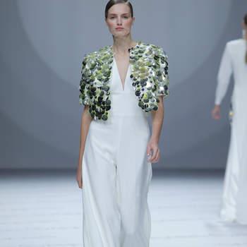 Isabel Sanchis. Credits: Barcelona Bridal Fashion Week