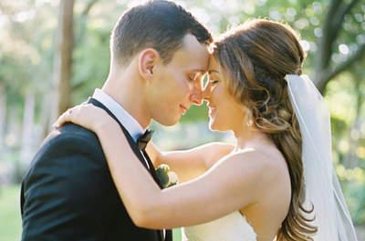 Inspírate en los mejores peinados de novia con velo y luce uno de ellos el día de tu boda