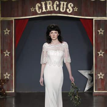Abiti da sposa con scollatura trasparente: sensualità velata