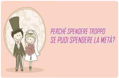 Un banner di Progetto Wedding con un semplice, risolvibilissimo quesito... Via progettowedding.com