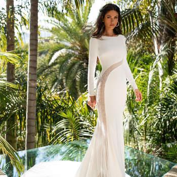 Créditos: Pronovias Cruise 2021 | Modelo do vestido: Morgan