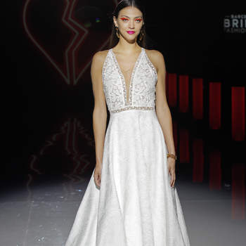 Marylise by Rembo Styling. Créditos: Barcelona Bridal Fashion Week