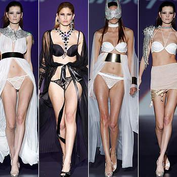 Nouvelle collection de lingerie pour mariée Impératrice. Nous avons sélectionné les mannequins les plus sexy du défilé. Photo: IFEMA
