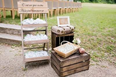 Comment décorer votre mariage sur le thème vintage sans vous ruiner