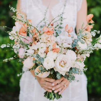 Bouquet de mariée fleurs multicolores Fondly Forever