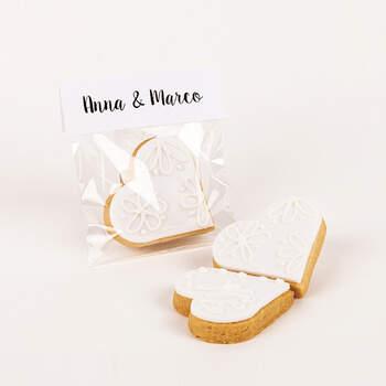 Biscuit pâte brisée cœur -  The Wedding Shop !