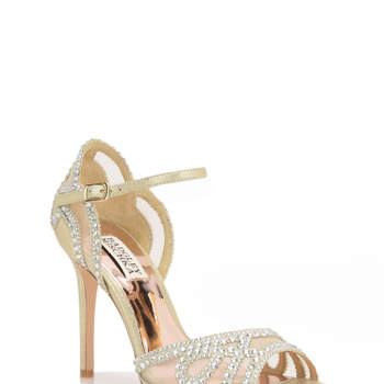 Tansy Embellished Evening Shoe. Credits: Badgley Mischka