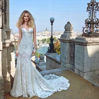 Foto: Modelo Gwen de Galia Lahav Haute Couture