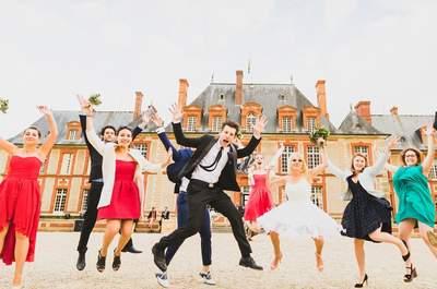 Amandine + Jean : un mariage romantique dans la bonne humeur !