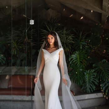 Vestido de noiva modelo Moore da coleção Pronovias 2021 Cruise Collection