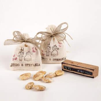 Bolsa con almendras praliné - Compra en The Wedding Shop