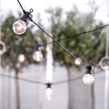 Guirnalda de bombillas 10 unidades- Compra en The Wedding Shop