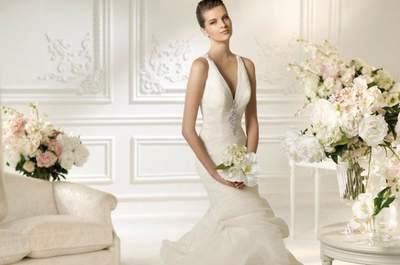 Die Top 5 Brautkleider im Meerjungfrauen-Schnitt aus der Brautmoden-Kollektion 2013