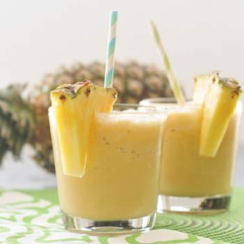 Una Piña Colada, ideal para bodas por la mañana dado que es cuando más calor hace y esta bebida es muy refrescante. Foto: spabettie.