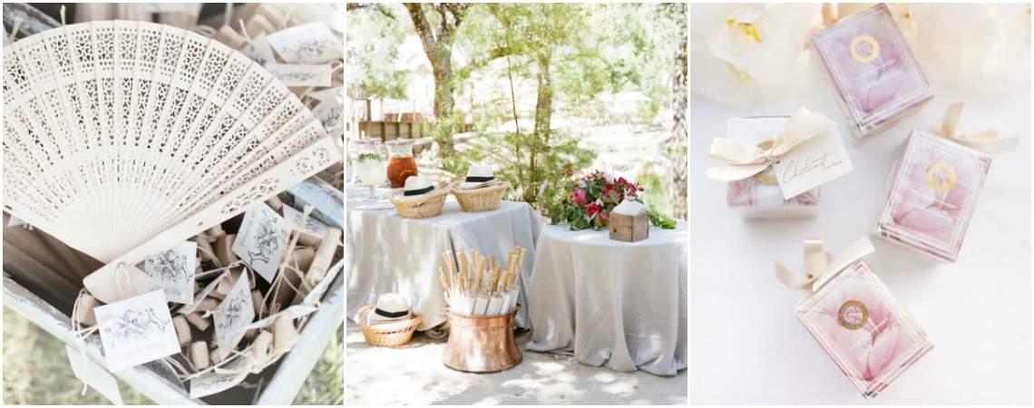 Cadeaux d'invités : un souvenir original et différent de votre mariage!