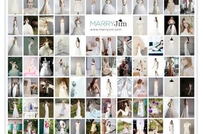 Una nueva manera de comprar (o vender) el vestido de novias de tus sueños: MARRYJim