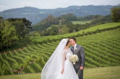 As 8 melhores vinícolas para casamento do sul do Brasil: seu destination wedding ULTRA romântico!