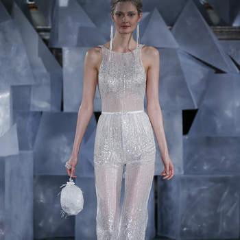 Mira Zwillinger. Créditos: New York Bridal Fashion Week  April2018