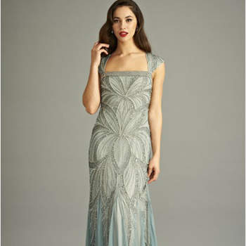 Bradi Embellished maxi dress. Credits: Frock & Frill