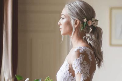 Penteados de noiva com rabo de cavalo: Você vai querer todos!