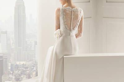 Soyez une mariée glamour avec les robes dos nu Rosa Clara 2015