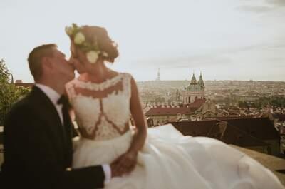 Sesja ślubna w Pradze! Cudowne kadry w magicznym mieście w Czechach.