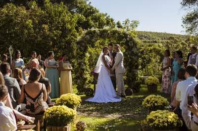 Os 12 melhores locais para casamento ao ar livre em São Paulo: simplesmente perfeitos!