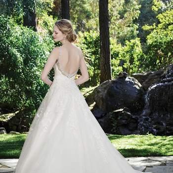 Casablanca Bridal Collection; Fall 2016: Juniper 2248