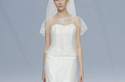 Verpassen Sie nicht die neuen Brautkleider von Cymbeline 2017: französische Eleganz für moderne Bräute