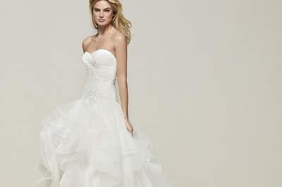 Abiti da sposa con scollatura a cuore: sensualità allo stato puro!