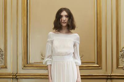 Vestidos de novia para mujeres con poco pecho: lo que te quedará ideal