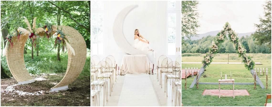 Dekoration für eine unvergessliche Hochzeitszeremonie: Stilvoller Gang vor den Traualtar