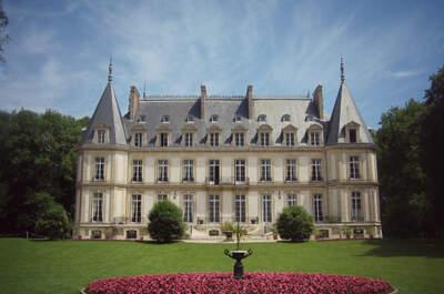 Le somptueux Château de Santeny, un cadre enchanteur pour votre mariage de princesse