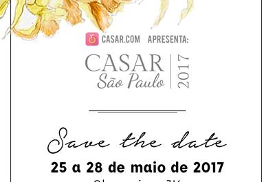 CASAR 2017: um dos maiores eventos de noivas do país chega a São Paulo!