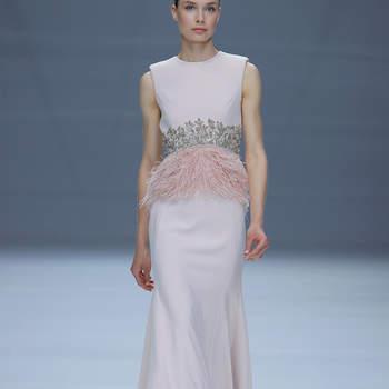 Cristina Tamborero.. Credits: Barcelona Bridal Fashion Week