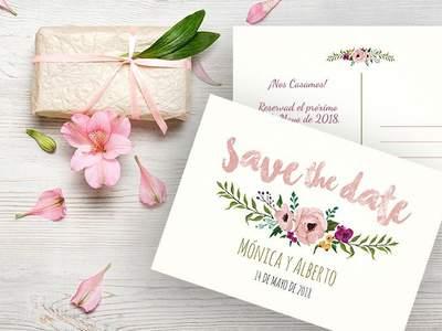 37 tipos de invitaciones de boda toma nota e invita con - Como hacer una boda diferente ...