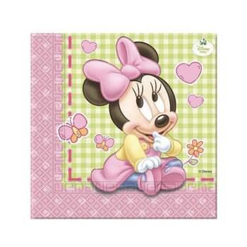 Serviettes Baby Minnie 20 Pièces - The Wedding Shop !
