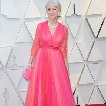 Helen Mirren vestida de Schiaparelli / Cordon Press