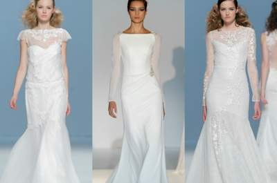 Abiti da sposa a sirena 2015: ecco i modelli che vi faranno sognare!